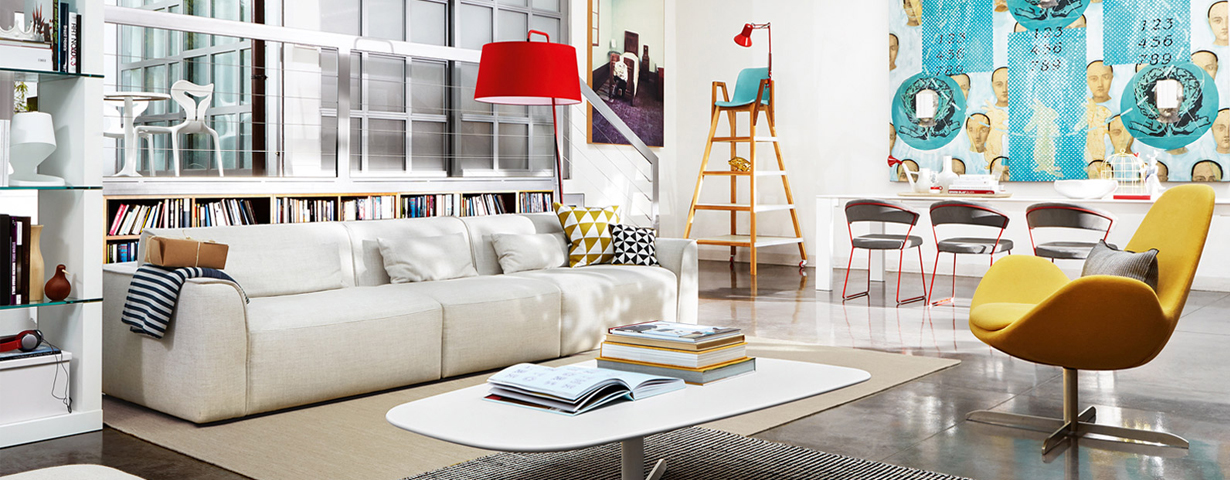 International furniture nyc calligaris for Sofas in nyc